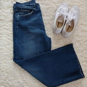 Zara trf Relaxed Wide Leg Jeans NWT
